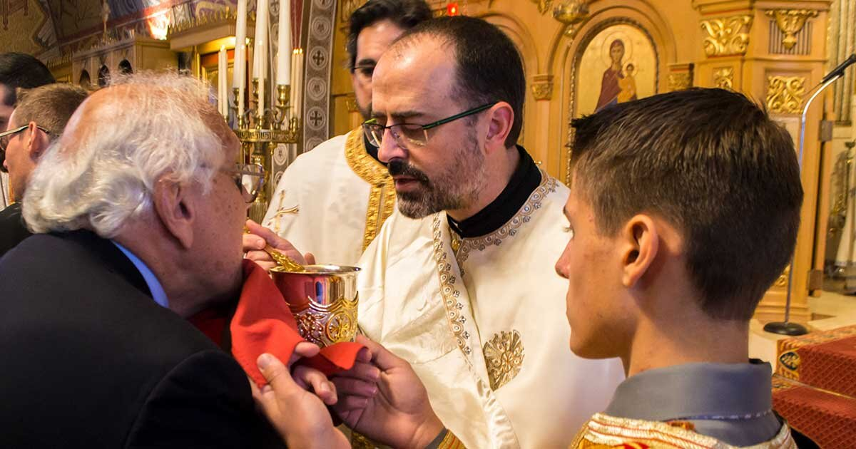 Divine Liturgy, Holy Eucharist